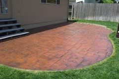 Stamped Patio w.Paver Look2